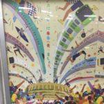 【五輪ロゴ発見】JR東日本ポスター「さあ、いっしょに未来へ走りましょう。」