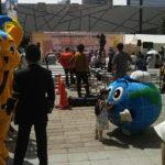 東京2020大会広報PR用バッジ  配布イベント「6・26国際麻薬乱用撲滅デー」都民の集い
