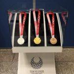 東京2020パラリンピックメダルの展示 in 東京都庁