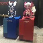 2019 国際ロボット展 トヨタのブースにミライトワ&ソメイティのロボットが登場